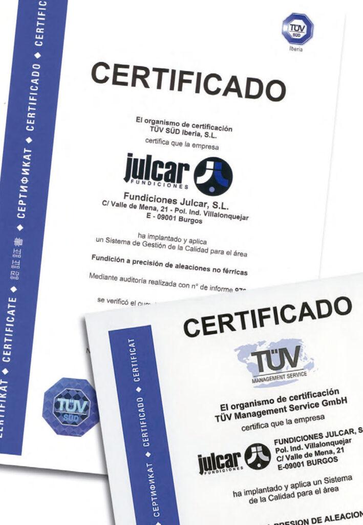julcar certificado